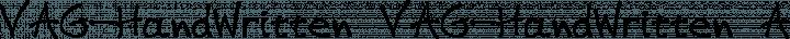 VAG-HandWritten VAG-HandWritten free font
