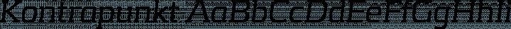 Kontrapunkt font family by Kontrapunkt