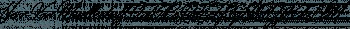 Herr Von Muellerhoff font family by Sudtipos