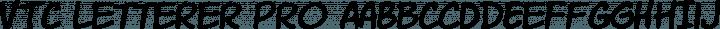 VTC Letterer Pro font family by Vigilante Typeface Corporation